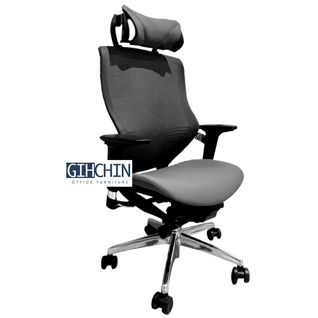 GEF20 3D立體曲面人體工學椅 1