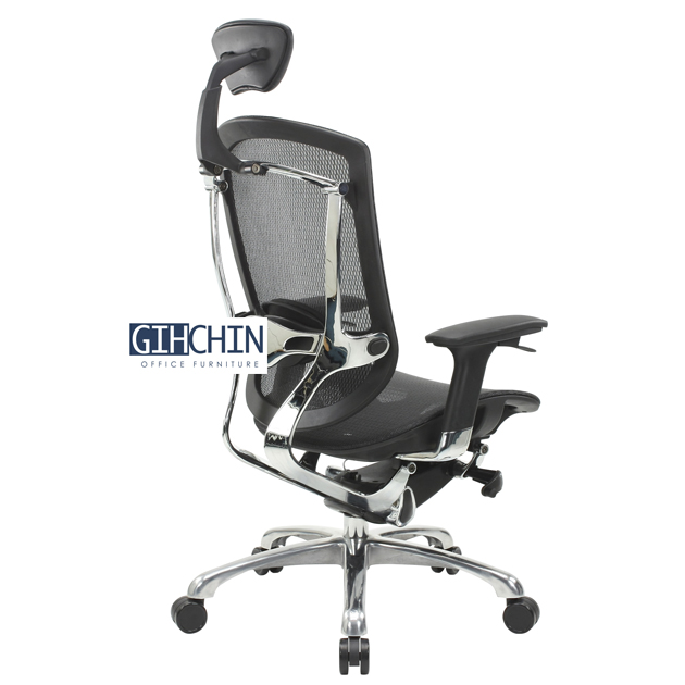 AMBER 線控牛皮工學椅 3