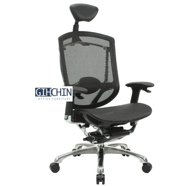 AMBER 線控牛皮工學椅 2