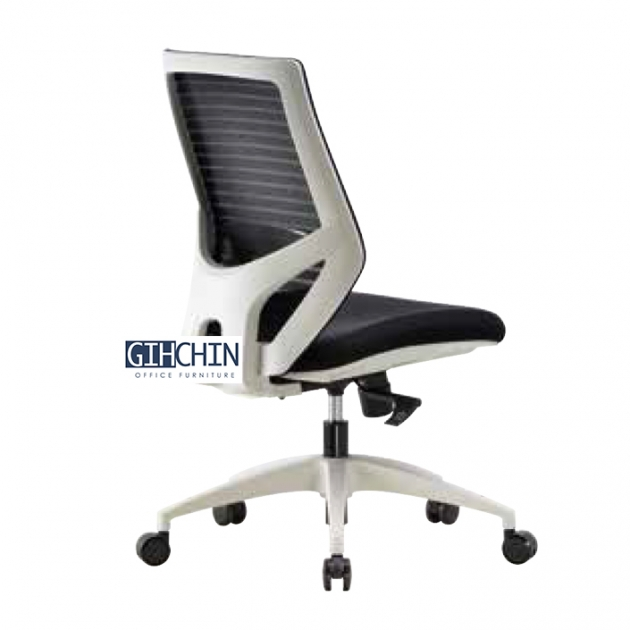GEB09 設計款白框辦公椅 3