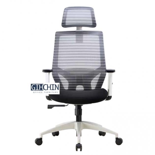 GEB09 設計款白框辦公椅 1