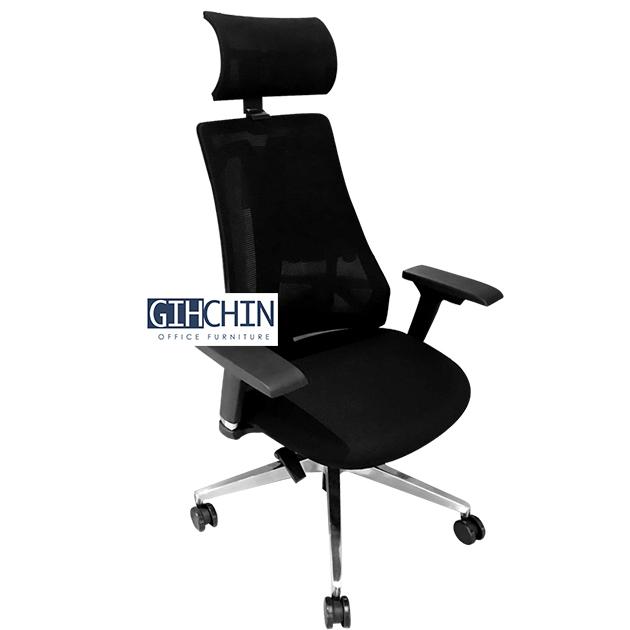 VSMOON 3D頭枕高背工學椅 1