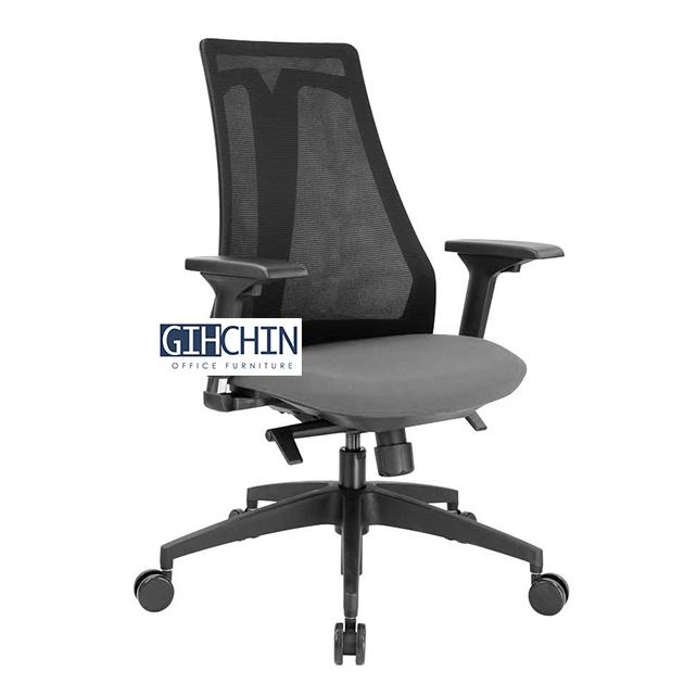 VSMOON 3D頭枕高背工學椅 3